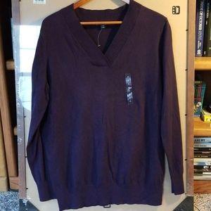 Gap V-neck Pullover